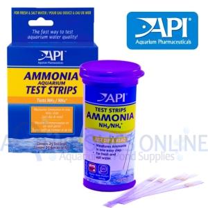 API Ammonia Test Strips 1